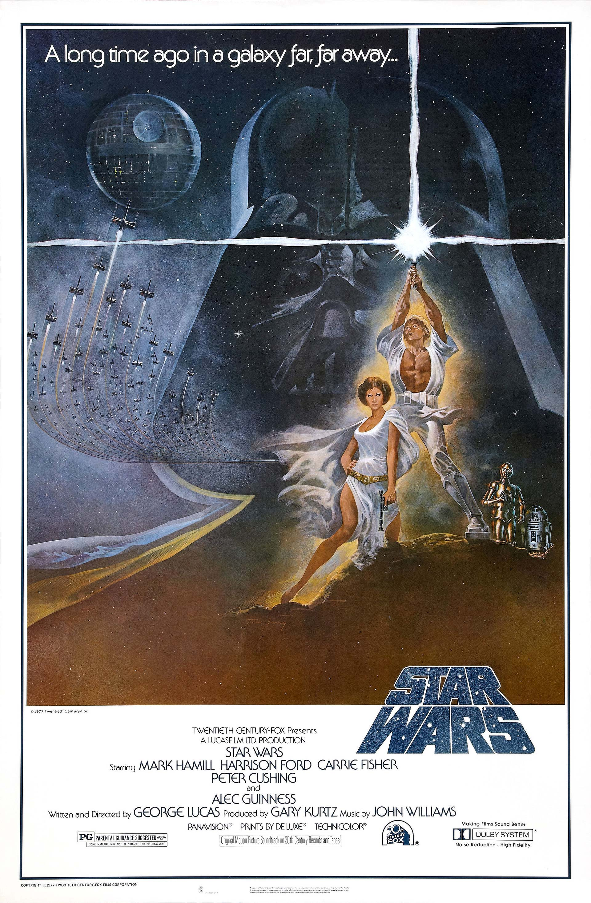 Star Wars Classic Posters Episode IV: A New Hope Style A by Tom Jung