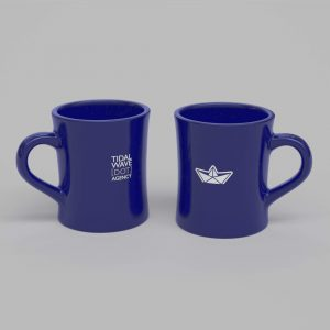 Blue Boat Mug - Product Shot